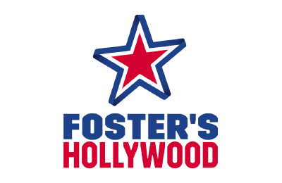 Nuevo logo Fosters Hollywood_fondo transparente