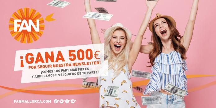 Gana 500 euros gracias a nuestra newsletter