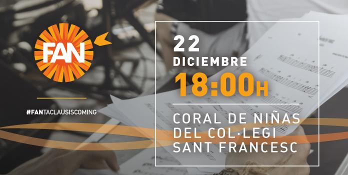 Coral de Niñas del Col·legi Sant Francesc en FAN