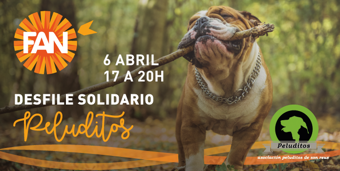desfile solidario Peluditos en FAN Mallorca Shopping