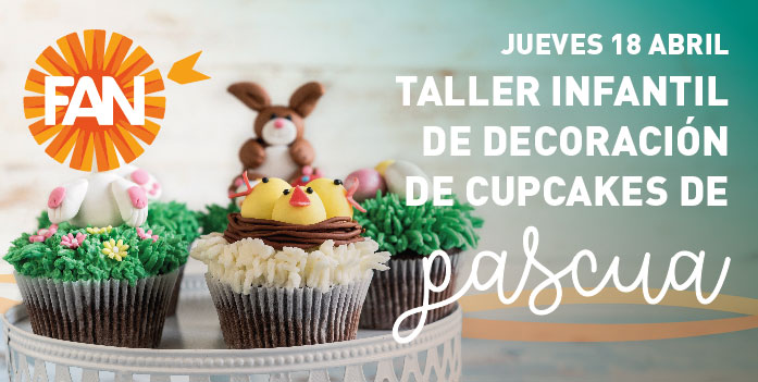 taller de cupcakes FAN Mallorca Shopping