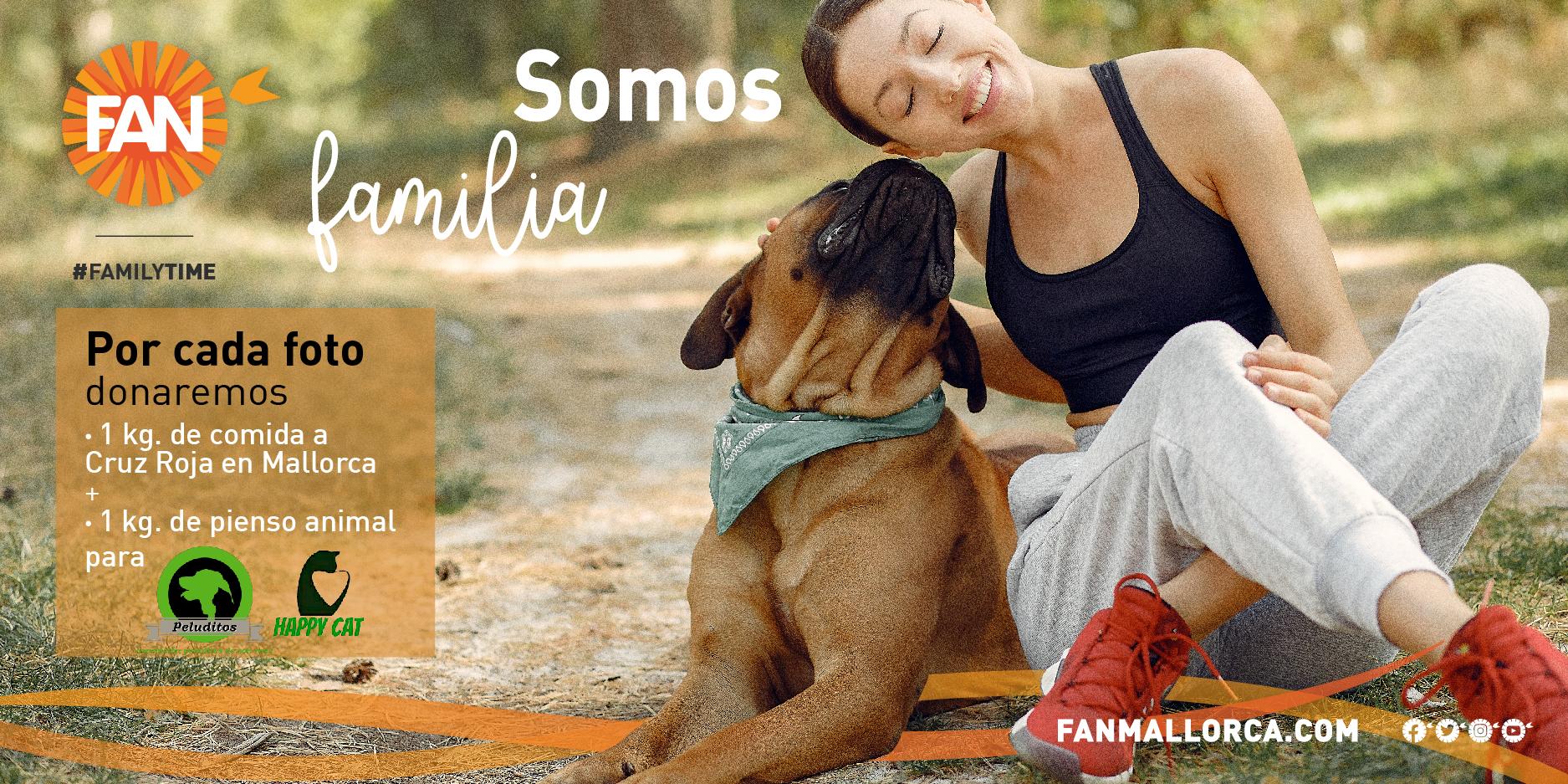 donar alimentos FAN Mallorca