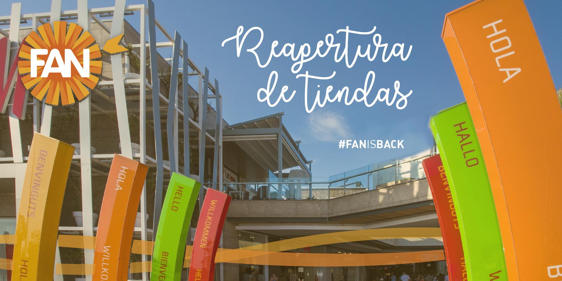 tiendas abiertas en FAN Mallorca Shopping