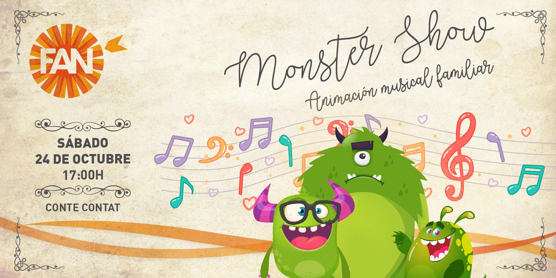 20201014_monster show 24 octubre_destacada agenda